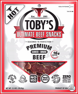 Toby's Ultimate Beef Snacks