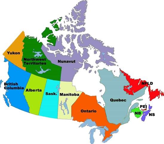 canadian-provinces
