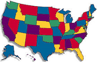 usa-map-search-by-state- State listings