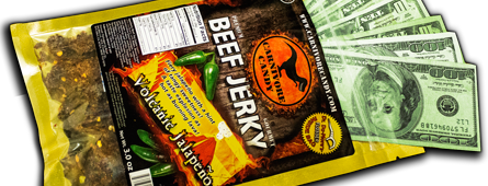 money-jerky- private label jerky