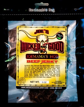 Joemamas Hot - joes wicked good jerky
