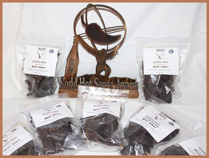 ria's roadkill jerky - award winning