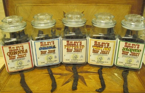 riley's jerky jars