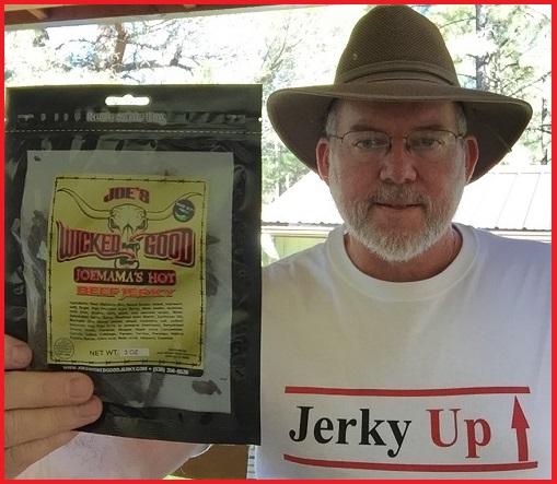 joes wicked good jerky - Ron Pro