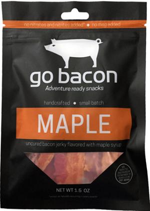 bacon jerky - go bacon Maple